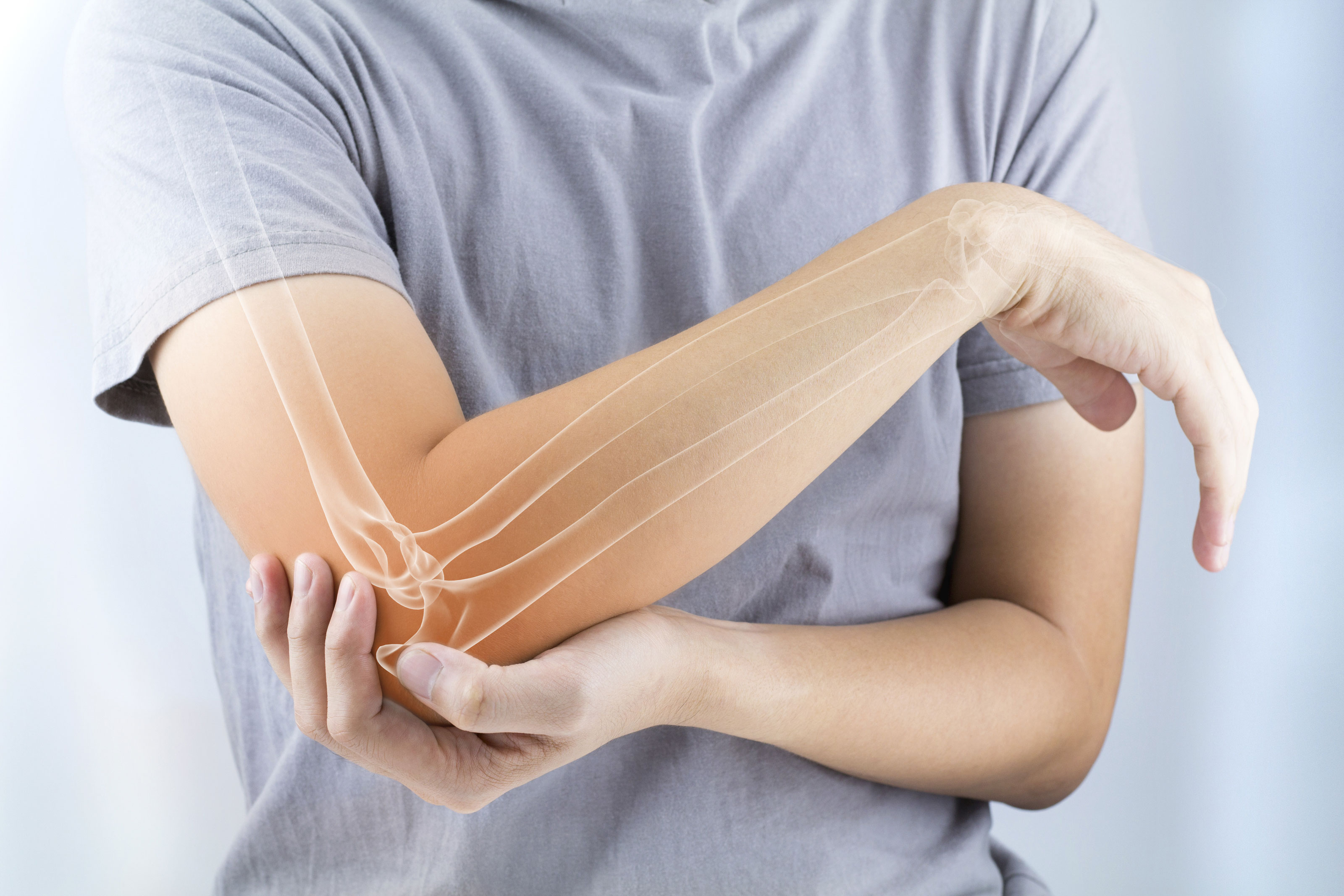Elbow pain treatment without surgery or pills