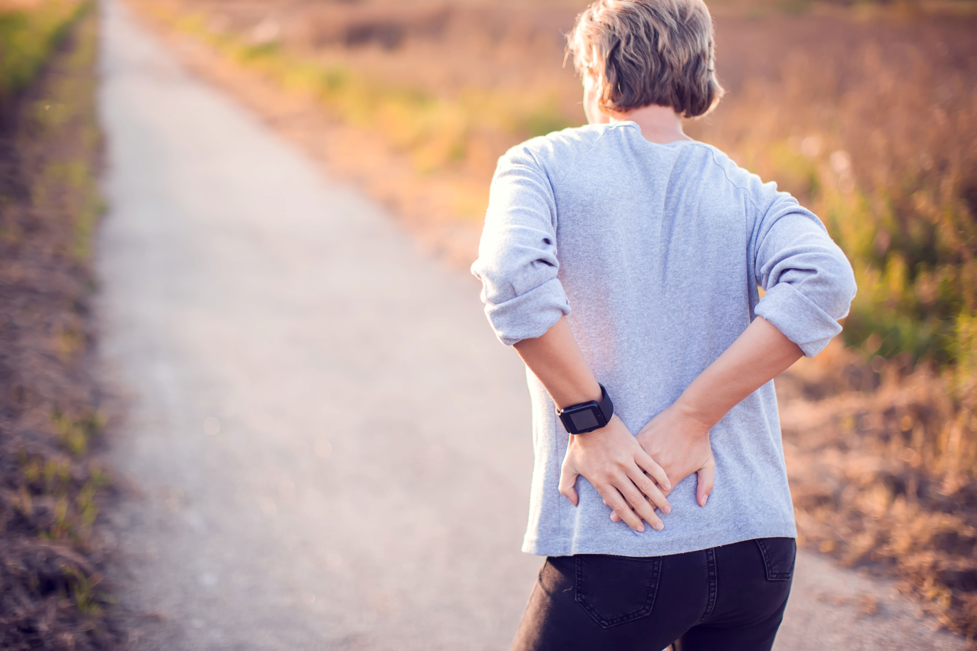 Hip pain treatment without surgery or pills
