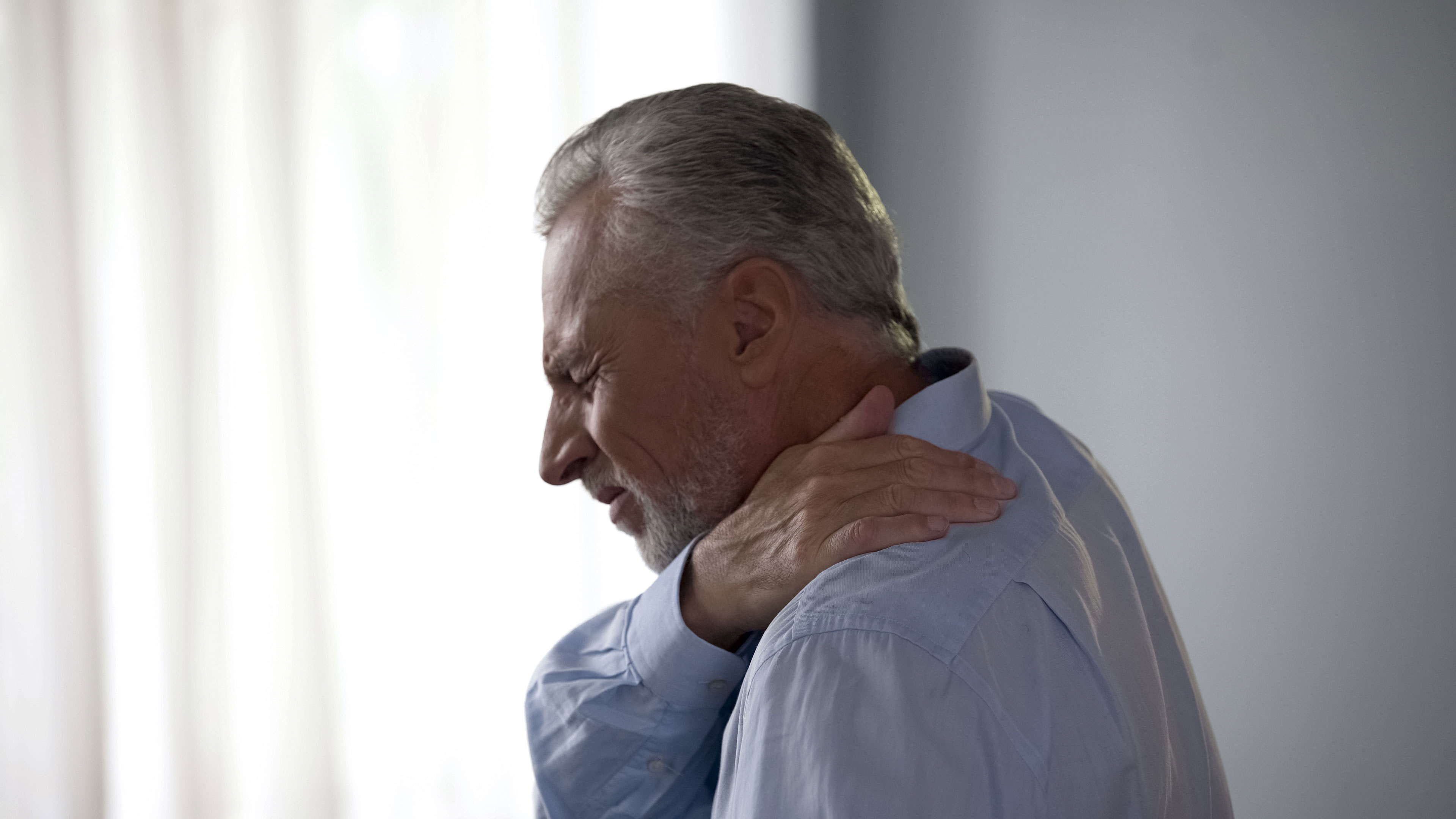 Neck pain treatment without surgery or pills